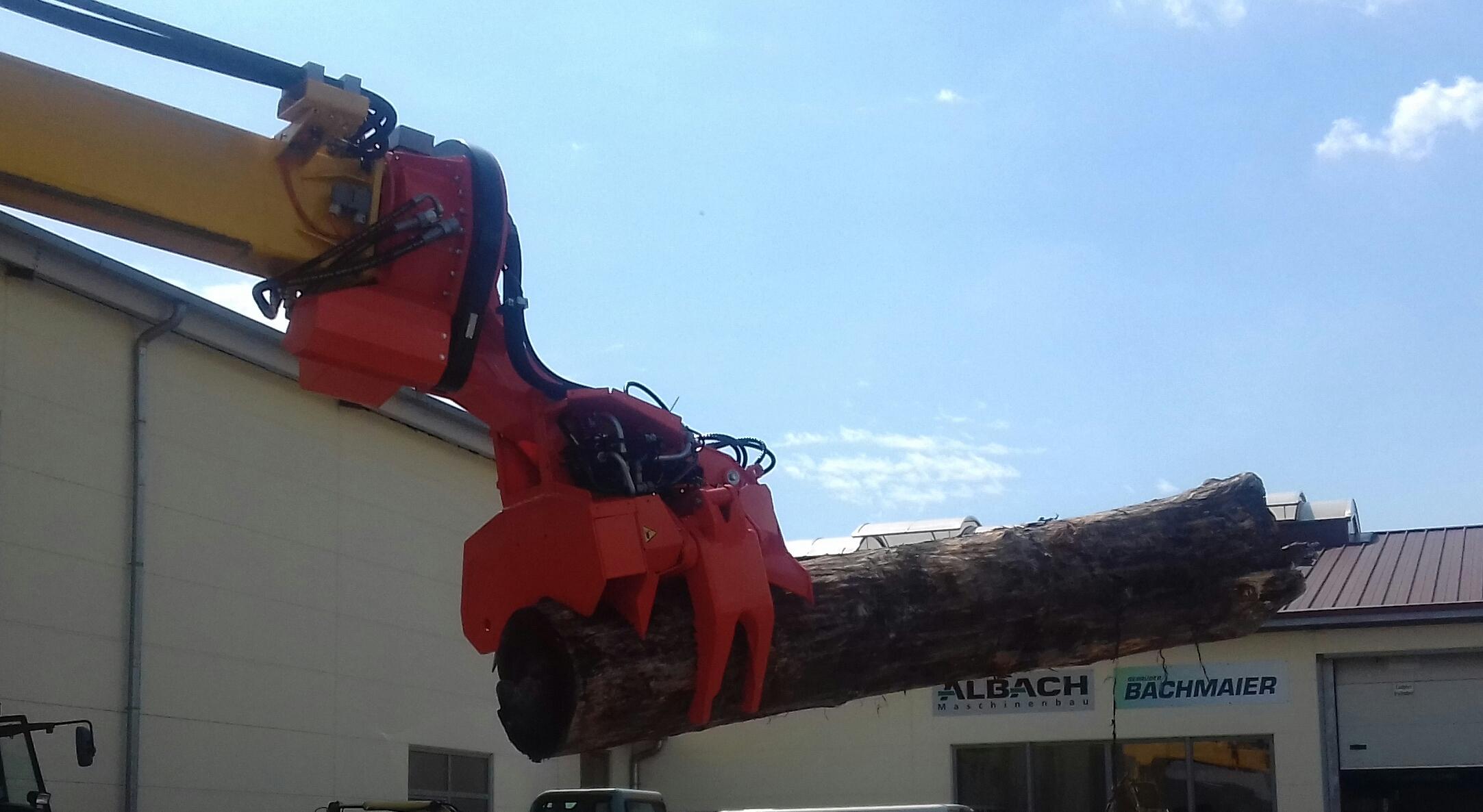 Energieholzgreifer