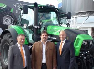 Horst Pässler (Regionalleiter SDF), Herr Bachmaier, Alexander Leopold (Direktor Vertrieb & Marketing SDF), Foto: SDF